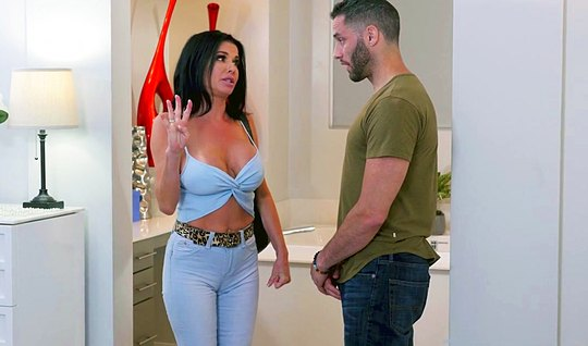Young guy roughly Fucks in many poses Mature nurse with huge Tits...